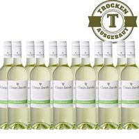 Weißwein Claus Jacob Pfalz Riesling trocken, 12 x 0,75 Liter