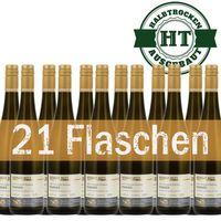 Weingut Roland Mees Nahe Kreuznacher Rosenberg Rivaner Qualitätswein 2015 halbtrocken (21 x 0,75l)   – Bild 1