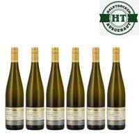 Weingut Roland Mees Nahe Kreuznacher Rosenberg Scheurebe Qualitätswein 2016 halbtrocken (6 x 0,75l)   – Bild 1