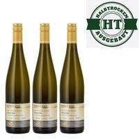 Weingut Roland Mees Nahe Kreuznacher Rosenberg Scheurebe Qualitätswein 2018 halbtrocken (3 x 0,75l)   – Bild 1