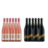 Strandgut Schorle  und  Fragolino Secco  - je 6 Flaschen (12x0,75L)