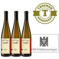 Weißwein Weingut  Lorenz Kunz VDP.ORTSWEIN Oestrich Riesling 2014 trocken (3x0,75l) - VERSANDKOSTENFREI -