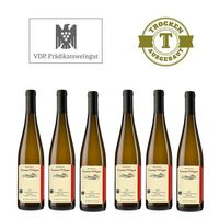 Weißwein Weingut  Lorenz Kunz Riesling Oestrich Doosberg Kabinett 2013 trocken (6x1,0l)   – Bild 1