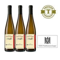 Weißwein Weingut  Lorenz Kunz Riesling Mittelheim St. Nikolaus 2011 trocken (3x0,75l)   – Bild 1
