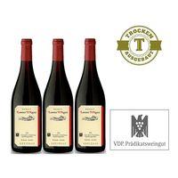 Rotwein Weingut  Lorenz Kunz Spätburgunder 2012 trocken (3x0,75l) - VERSANDKOSTENFREI - – Bild 1