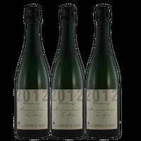Winzersekt Weingut Lorenz Kunz VDP.Gutssekt Chardonnay 2012 extra dry (3x0,75)   – Bild 1