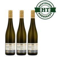 Weingut Roland Mees Nahe Kreuznacher Rosenberg Rivaner Qualitätswein halbtrocken (3 x 0,75l)   – Bild 1