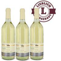 Weingut Roland Mees Nahe Kreuznacher Rosenberg Scheurebe Qualitätswein 2015 lieblich (3x0,75l)   – Bild 1