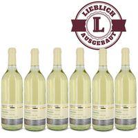 Weingut Roland Mees Nahe Kreuznacher Rosenberg Scheurebe Qualitätswein 2017 lieblich (6x0,75l)   – Bild 1