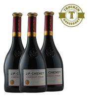 Rotwein  Frankreich  Cabernet-Syrah  2015 (3x0,75l)