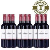 Rotwein Österreich Weingut Sommer Blaufränkisch Klassik 2015 trocken (9 x 0,75l) - VERSANDKOSTENFREI - – Bild 1