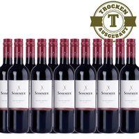 Rotwein Österreich Weingut Sommer Zweigelt Klassik  trocken (12 x 0,75l)   – Bild 1