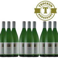 Weißwein Weingut Krieger Pfalz Weißburgunder Rhodter Ordensgut 2016  trocken (9 x 1,0L )