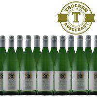 Weißwein Weingut Krieger Pfalz Weißburgunder Rhodter Ordensgut 2016  trocken (12 x 1,0L )   – Bild 1