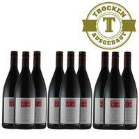 Rotwein Weingut Krieger Pfalz Qualitätswein trocken 2016 (9 x 1,0L)   – Bild 1