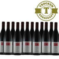 Rotwein Weingut Krieger Pfalz Qualitätswein trocken 2016 (12 x 1,0L)   – Bild 1