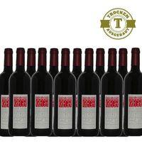 Rotwein Weingut Krieger Pfalz Dornfelder Qualitätswein trocken 2016 (12 x 0,75 l)   – Bild 1