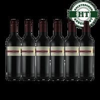 Rotwein Weingut Krieger St.Laurent Qualitätswein 2017 halbtrocken (6 x 0,75 l)   – Bild 1