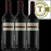 Rotwein Weingut Krieger Pfalz Cabernet Cubin Spätlese 2015 trocken (3 x 0,75l)