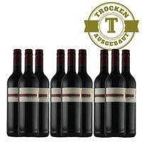 Rotwein Weingut Krieger Pfalz Cabernet Cubin Spätlese 2015 trocken (9 x 0,75l)