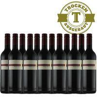 Rotwein Weingut Krieger Pfalz Cabernet Cubin Spätlese 2015 trocken (12 x 0,75l) - VERSANDKOSTENFREI -