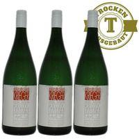Weißwein Weingut Krieger Pfalz Müller Thurgau Rhodter Ordensgut 2017 mild (3 x 1,0l)   – Bild 1