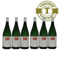 Weißwein Weingut Krieger Pfalz Müller Thurgau Rhodter Ordensgut 2017 mild (6 x 1,0l) - VERSANDKOSTENFREI - – Bild 1