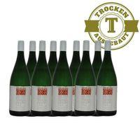 Weißwein Weingut Krieger Pfalz Müller Thurgau Rhodter Ordensgut 2017 mild (9 x 1,0l)   – Bild 1