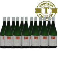 Weißwein Weingut Krieger Pfalz Müller Thurgau Rhodter Ordensgut 2017 mild (12 x 1,0l) - VERSANDKOSTENFREI - – Bild 1