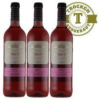 Rose Spanien Rioja Pueblo Viejo 2015 trocken (3 x 0,75l) - VERSANDKOSTENFREI -
