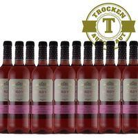 Rose Spanien Rioja Pueblo Viejo 2015 trocken (12 x 0,75l) - VERSANDKOSTENFREI -