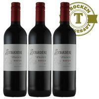 Rotwein Frankreich Vin de France Rouge 2015 (3 x 0,75l)   – Bild 1