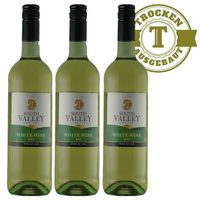 Weißwein South Valley White Wine USA 2017 trocken (3 x 0,75l)
