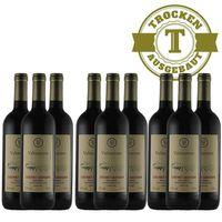 Rotwein Italien Cabernet Sauvignon 2015 trocken (9 x 0,75l)   – Bild 1