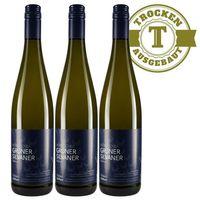 Weißwein Weingut Dackermann Grüner Silvaner trocken 2017 (3 x 0,75 l)