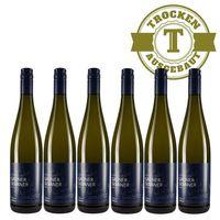 Weißwein Weingut Dackermann Grüner Silvaner trocken 2017 (6 x 0,75 l)  - VERSANDKOSTENFREI -
