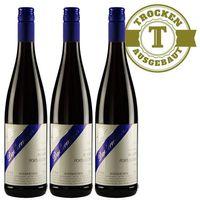 Rotwein Weingut Dackermann Rheinhessen Blauer Portugieser 2016 trocken (3 x 0,75 l)