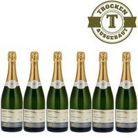 Winzersekt Weingut Roland Mees Nahe Deutscher Riesling - Winzersekt trocken (6 x 0,75l)   – Bild 1