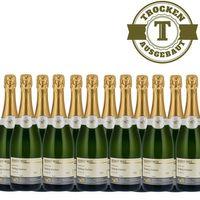 Winzersekt Weingut Roland Mees Nahe Deutscher Riesling - Winzersekt trocken (12 x 0,75l)   – Bild 1
