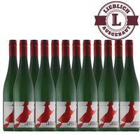 Weißwein Weingut Horst Sünner Winninger Weinhex  Riesling Qualitätswein mild (12 x 0,75 l )   – Bild 1