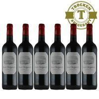 Rotwein Jean Degaves Vin de Bordeaux  - 6x0,75L
