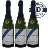 Winzersekt Weingut Dackermann Rheinhessen Chardonnay extra dry (3x0,75l)