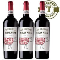 Rotwein The original Steak Wine Chile Malbec (3x0,75l) - VERSANDKOSTENFREI