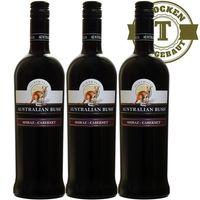 Rotwein Australien Bush Shiraz und Cabernet Sauvignon trocken (3x0,75l)