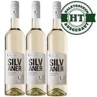 Weißwein Rheinhessen Silvaner 2016 halbtrocken (3x 0,75 l) - VERSANDKOSTENFREI -