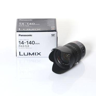 Panasonic Lumix G Vario 14-140 mm F/4-5.8 Aspherical Mega O.I.S. AF ED Objektiv