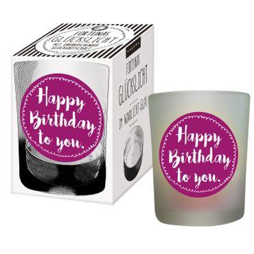 Glückslicht im Glas / Happy Birthday to you – Bild 1