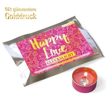 Fortunas Glückslicht / Gold Edition / Happy / Love / 6er Pack – Bild 1