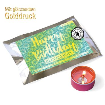 "Fortunas Glückslicht / Edition Happy ""Happy Birthday"" / PLUS Meditation – Bild 1"