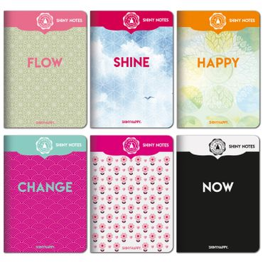 Shiny Notes / 6er Pack / PLUS Meditation – Bild 1